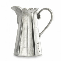 Arte Italica Vintage Tall Scalloped Pitcher