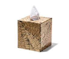 Totumo Tissue Box from belleandjune.com | Bathroom accents