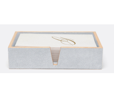 Manchester Cloud Gray Hand Towel Tray Set of 2