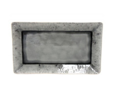 Madeira Large Grey Rectangular Tray from belleandjune.com | Tabletop