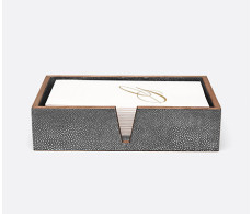 Manchester Cool Gray Hand Towel Tray Set of 2