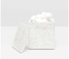 Callas Canister - White from belleandjune.com | bathroom accessories