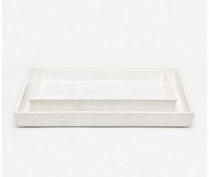 Calls Trays - White from belleandjune.com | bathroom accessories