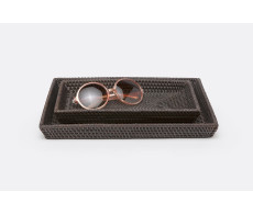 Dalton Nesting Trays - Coffee