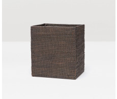 Dalton Rectangular Wastebasket - Coffee