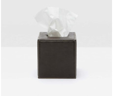Lorient Charcoal Tissue Box