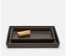 Lorient Charcoal Tray Set (Set of 2)