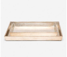 Tanlay Tray Set from belleandjune.com | bathroom accessories