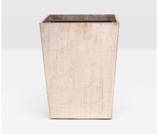 Tanlay Rectangular Wastebasket from belleandjune.com | Bathroom Accessories