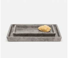 Veneto Tray set from belleandjune.com | bathroom accessories