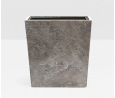 Veneto Rectangular Wastebasket from belleandjune.com | bathroom accessories