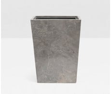 Veneto Square Wastebasket from belleandjune.com | bathroom accessories