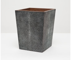 Manchester Square Wastebasket - Cool Grey