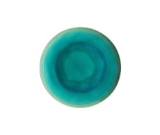 Riviera Azur Dinner Plate from belleandjune.com | Tabletop