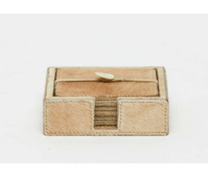 Browmley Beige Coaster Set