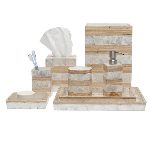 Salerno Bath Set - Natural