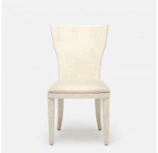 Blair Off White Faux Shagreen Chair