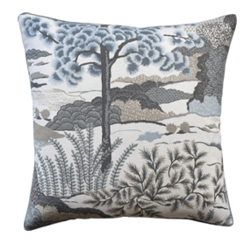 Daintree Aqua Decorative Pillow