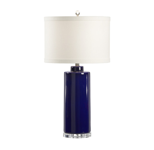 Blue Table Lamp from belleandjune.com | Table Lamp