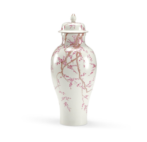 Cherry Blossom Temple Jar  from belleandjune.com | Vases and Temple Jars