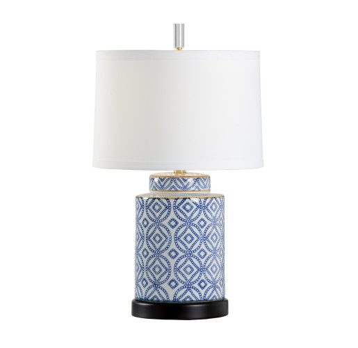 Dorothy Blue and White Table Lamp | Table Lamp