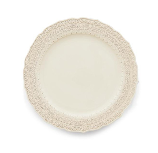 Arte Italica Finezza Cream Dinner Plate