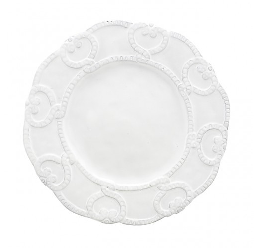 Arte Italica Bella Bianca Antique Lace Salad Plate from belleandjune.com | Small Plates