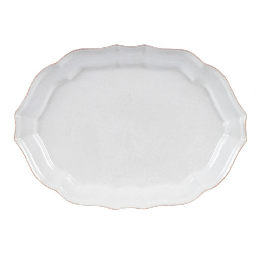 Impressions Oval Platter - White