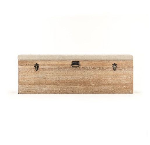 Oak Stockage Bench