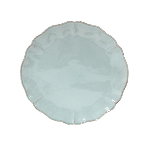Alentejo Turquoise Charger Plate from belleandjune.com | Tabletop