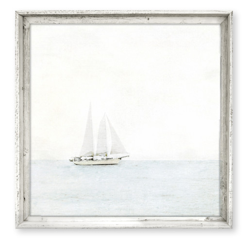Sailbot Canvas Wall Art from belleandjune.com | Wall Art
