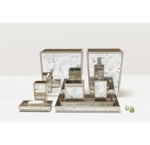 Atwater Bath Set - Silver Leaf
