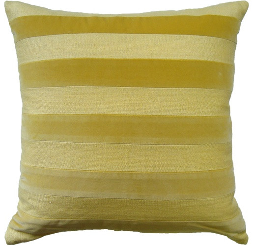 Parker Stripe Pillow - Daisy