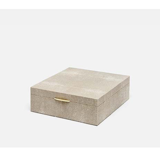 Lucerne Box - Sand from belleandjune.com | Decorative Boxes