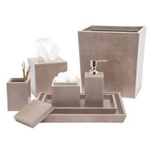 Hampton Bath Set   Storm Color From Belleandjune.com | Designer Bathroom  Accessories