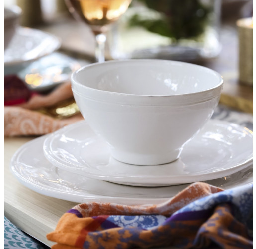 Via Fresh White Dinnerware from belleandjune.com | dinnerware