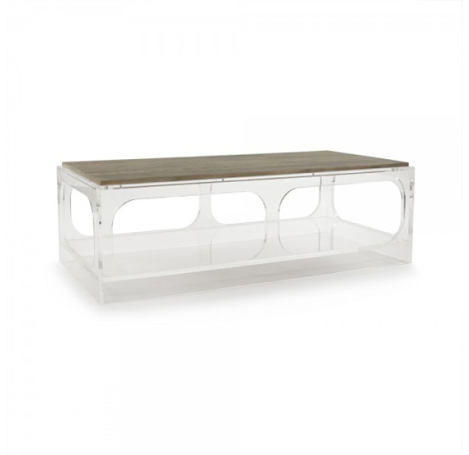 Alexis Acrylic Coffee Table