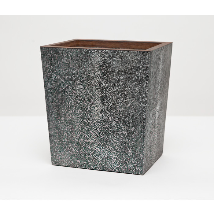 Manchester bath set cool gray bathroom accessories at belleandjune - Cool wastebaskets ...