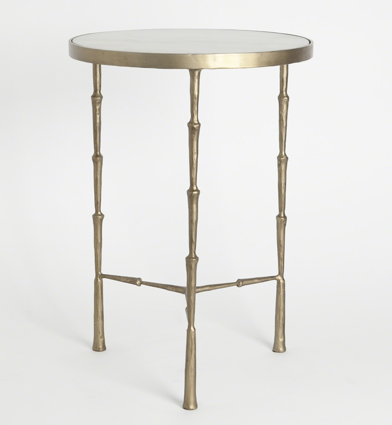 - Julep Brass Accent Table Furniture