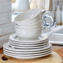 Fattoria White Dinnerware from belleandjune.com | dinnerware