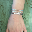 Sterling Silver Cuff - Expect Miracles from belleandjune.com | jewelry