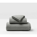 Geneva Gray Bath Towels from belleandjune.com | Towels