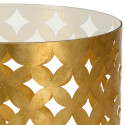 Gold Antique Leaf Side Table from belleandjune.com | Side/Accent/Console Tables