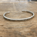 Sterling Silver Cuff - Carry Your Heart from belleandjune.com | jewelry