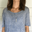 Sterling Silver Necklace - Be Happy For This Moment from belleandjune.com | jewelry