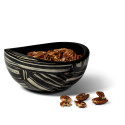 Ebano Veneer Accent Bowl from belleandjune.com | tabletop