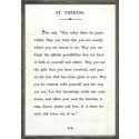 The Book Collection - St. Theresa from belleandjune.com | Wall Decor