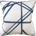 Channels Periwinkle Decorative Pillow from belleandjune.com | Decorative Pillows