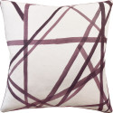 Channels Plum Decorative Pillow from belleandjune.com | Decorative Pillows