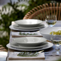 Friso pasta Plate from belleandjune.com | Tabletop